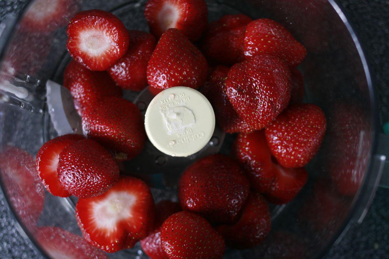 Cream Cheese Pound Cake + Strawberry Coulis Recipes — Dishmaps
